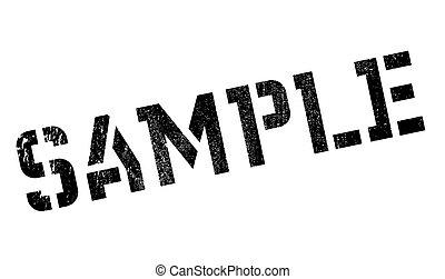 Sample stamp
