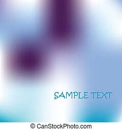 sample text card. vector art illustration
