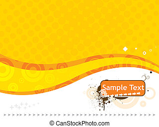 sample text vector illustration isolated on white