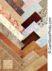 ceramic tile - Samples of a ceramic tile in shop