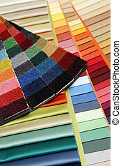 samples of a fabric