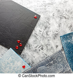 Samples of concrete backgrounds