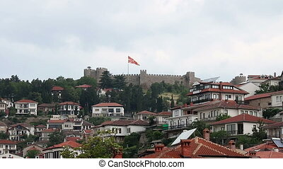 Samuel fortress Ohrid Macedonia