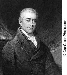 Samuel Romilly (1757-1818) on engraving from the 1800s....