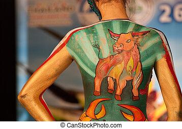 samui body painting