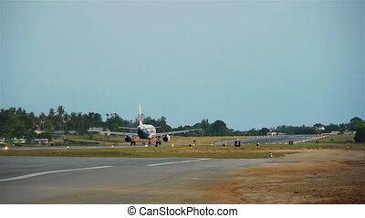 samui, fermé, île, prendre, avion, thaïlande