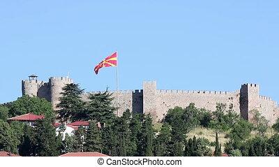Samuil fortress Ohrid Macedonia