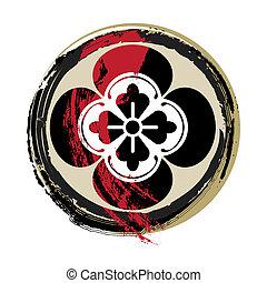 samurai, bakkekammen, blodig