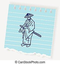 samurai doodle