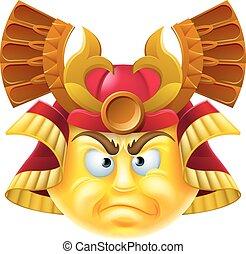 Samurai Emoji Emoticon