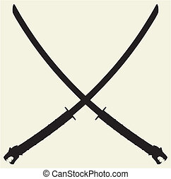 Samurai Katana Vector