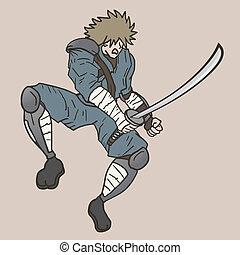 samurai, oud