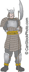 samurai, strijder