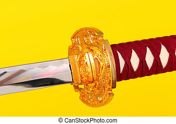 Samurai Sword Isolated - Samurai sword, Katana, Wakizashi ...