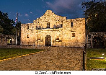san, テキサス, alamo, antonio