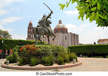 san, メキシコ\, de, neri, felipe, miguel, 教会, allende