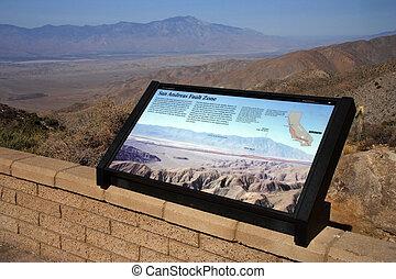 San Andreas fault zone, Joshua Tree National Park