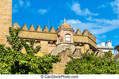 San Andres Church in Seville, Spain - San Andres Church in...