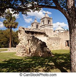 San Antonio Mission Concepcion in Texas