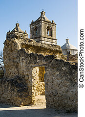 San Antonio missions - Historical mission San Jose y San...
