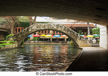 san antonio, riverwalk