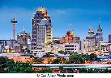 San Antonio Skyline - San Antonio, Texas, USA skyline.