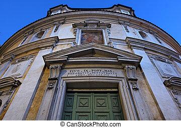 San Bernardo alle Terme facade in Rome