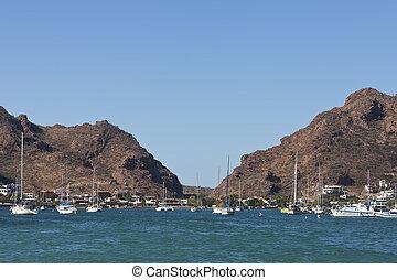 San Carlos, Sonora Mexico - The bay in San Carlos, Mexico