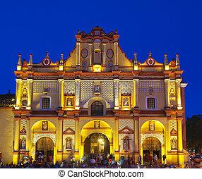 san, de, cristobal, cathedral., casas, las