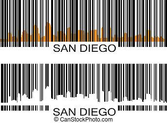 San Diego barcode