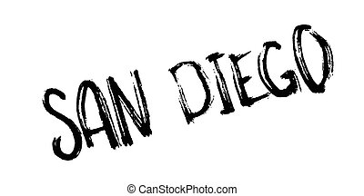 San Diego rubber stamp