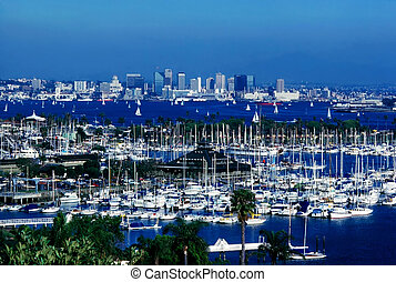 San Diego with Shelter Island