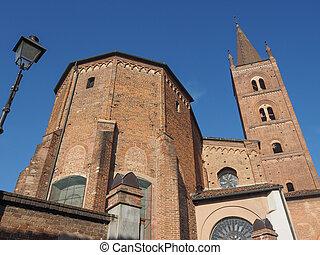 Chiesa di San Domenico gothic church in Chieri Italy