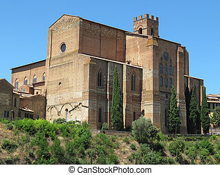 San Domenico church in Siena