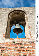 san, dzwon, capistrano, huan, misja, wieża