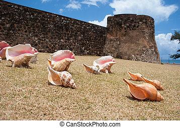 Dominican Republic - San Felipe Fortress at Puerto Plata,...