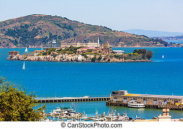 San Francisco Alcatraz Penitenciary California