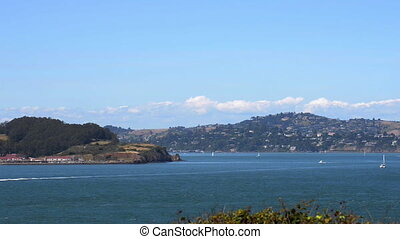 San Francisco Bay California - San Francisco Bay and Golden...