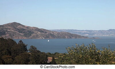 San Francisco Bay pan - Pan over the bay of san francisco