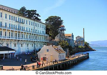 Alcatraz - San Francisco, California, USA - September 28,...