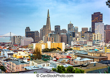 San Francisco, California, USA Skyline