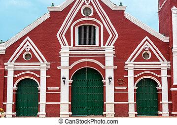 San Francisco Church Facade