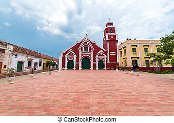 San Francisco Church in Mompox, Colombia