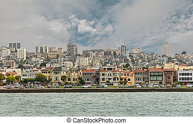 San Francisco city view from the Bay