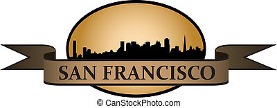 San Francisco crest - City of San Francisco crest with...