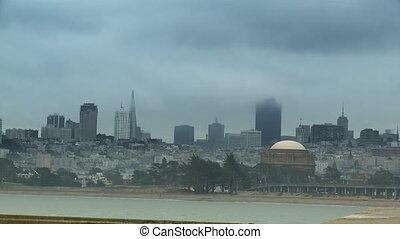 San Francisco Fog Time-lapse
