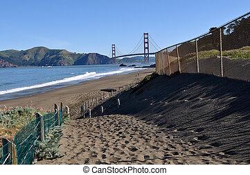 San Francisco Golden Gate Bridge Baker Beach