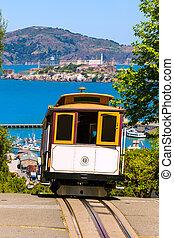 San francisco Hyde Street Cable Car California - San ...