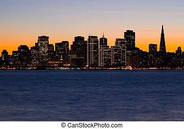 San Francisco   - San Francisco silhouette