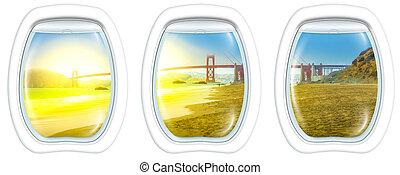 San Francisco Porthole windows